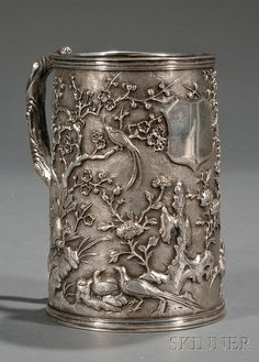 Chinese Export Silver Mug | by skinnerinc
