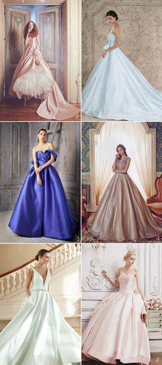 18 Classic Satin Wedding Dresses That are Designed to Stand the Test of Time!