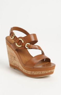 Cute Wedges for the Spring and Summer time :)    Franco Sarto 'Sachet' Wedge Sandal available at #Nordstrom