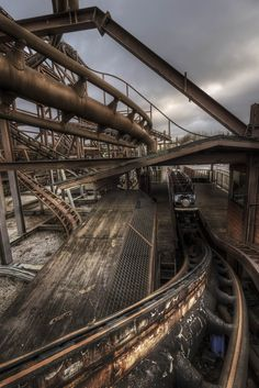 Camelot Theme Park, freshly abandoned for 2013