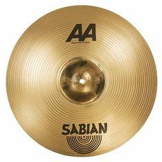 "Sabian 20"" AA Metal Crash This motherfucker will scare a bear aware."