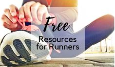 Free resources for runners