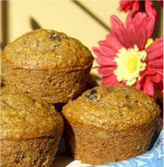 Whole Wheat Honey Banana Muffins. Photo by Dairy-Free Foodie.  I have these in the oven right now!  I hope they're good!