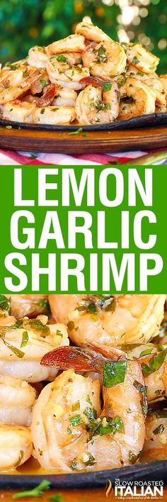 Lemon-garlic shrimp is bursting with flavor, truly better than any restaurant. A one-skillet meal, made in just 20 minutes, this is recipe you are not going to want to pass up. A silky lemon butter sauce is served over succulent shrimp, cooked until just