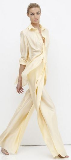 Chado Ralph Rucci Resort 2013 Love the ease Very old Hollywood glam PattyonSite™