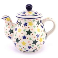 Funny teapot! Polish pottery from our new online store :)