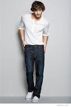 Guía de pantalón vaquero de H&M