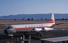 N7138C Lockheed L-188A Electra of Western Airlines Phoenix Sky Harbor Int'l Airport - KPHX, USA - Arizona 10 October 1959 Photographer	Jon Proctor