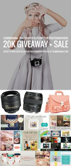 Summerana - Photoshop Actions for Photographer's Giveaway and Sale - Summerana - Photoshop Actions for Photographers