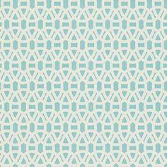 Scion   Lace Wallpaper - Powder Blue/Chalk 110230