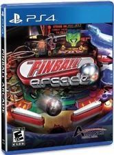 The Pinball Arcade - PlayStation 4 Brand New Ps4 Games Sony Factory Sealed