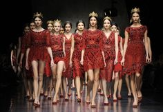 Dolce & Gabbana Fall-Winter 2013-14 collection.