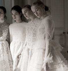 Backstage at Valentino Haute Couture Spring/Summer 2013Photographed by Kevin Tachman