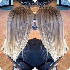 Soft blonde color melt. Hair by @scissorsqueen #hair #hairenvy #hairtalk #haircolor #blonde #highlights #newandnow #inspiration #maneinterest