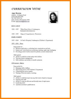 Latest Cv New Format With Salary Places To Visit Pinterest