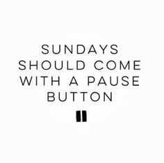 sundays should come with a pause button // In need of a detox? Get 10% off your @SkinnyMeTea teatox using our discount code 'Pinterest10' at skinnymetea.com.au