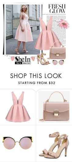 """SheIn 4/VI"" by nermina-okanovic ❤ liked on Polyvore featuring Fendi and shein"