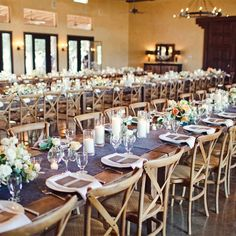 Rustic Indoor Reception // The Nichols Photography // Location: The Wild Onion Ranch // http://www.theknot.com/weddings/album/a-romantic-outdoor-wedding-in-austin-tx-136971