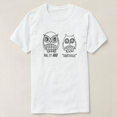 Camiseta divertida de Louisville Kentucky - búhos