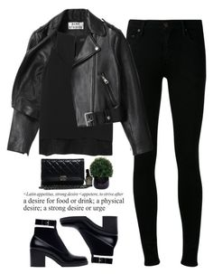"""""""- simple mind -"""" by lolgenie ❤ liked on Polyvore featuring Acne Studios, rag & bone, Chanel, Citizens of Humanity, Zara and Lux-Art Silks"""