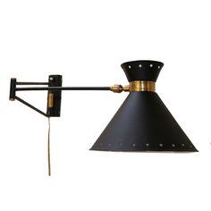 50's Wall Lamp by Pierre Guariche
