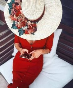 Paris Chic, Coco Mademoiselle, Stylish Hats, Fancy Hats, Dress Hats, Summer Hats, Mode Style, Fashion Outfits, Womens Fashion