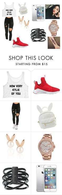 """""""my queen kylie"""" by daisy-788 on Polyvore featuring Puma, cutekawaii, Aamaya by priyanka and Michael Kors"""