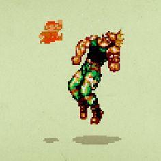 Aled Lewis e Suas Artes Inspiradas em Games e Pixels http://www.tutoriart.com.br/aled-lewis-e-suas-artes-inspiradas-em-games-e-pixels/