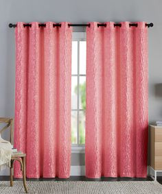 Look at this Annie Coral Panel on #zulily today!