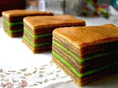 Many of you may find baking lapis cakes not your cup of tea. the thought of baking layer by layer & sitting in front of the . Thousand Layer Cake, Layer Cake Recipes, Layer Cakes, Sponge Cake Roll, Lapis Legit, Indonesian Desserts, Resep Cake, Brownie Cake, Brownies