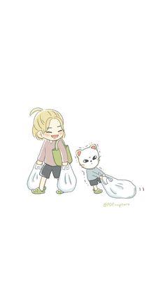 Cute Cartoon Wallpapers, Animes Wallpapers, K Pop, Chibi, Kids Fans, K Wallpaper, Young K, Korean Boy, Felix Stray Kids