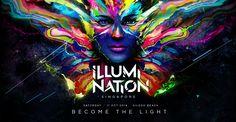 Illumi Nation | Become the Light | Singapore | Siloso Beach Sentosa | Saturday 11 Oct 2014