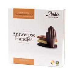 Antwerpse Handjes in chocolade