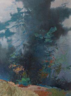 Christmas Fog, painting by artist Randall David Tipton