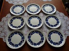 Arabia Finland, dec Aamu, designer Esteri Tomula Royal Copenhagen, Wedgwood, Good Company, Scandinavian Style, Finland, Outdoor Gardens, Decorative Plates, Tableware, Design