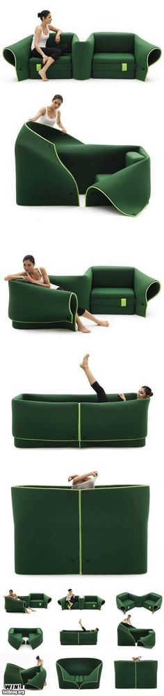 It's like being hugged by your furniture- Wonder how it would stand up to being constantly reshaped?