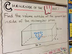 Middle School Math Man: Challenge of the Week
