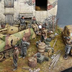 Model Tanks, Military Modelling, Military Diorama, Panzer, Plastic Models, Scale Models, Vintage Toys, Wwii, Diy And Crafts