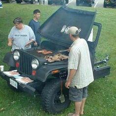 jeep grill...lolololol cute!