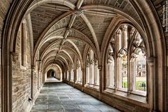 Rockefeller College Cloister, Princeton University - http://andrewprokos.com/photos/locations/new-jersey/