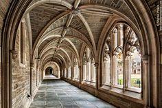 Rockefeller College Cloister, Princeton University - http://andrewprokos.com/photos/locations/new-jersey/