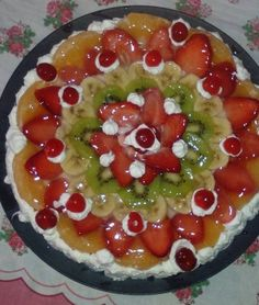 Torta di frutta preparata da @Fiore Loto