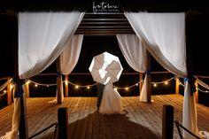 Tóparti esküvő - fotózás éjszak - Nádas pihenőpark Vasad