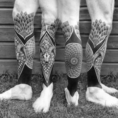 #blackwork #tattoo