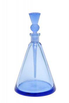 Lot: 1930s Hoffmann Czech perfume bottle, Lot Number: 0079, Starting Bid: $250, Auctioneer: Perfume Bottles Auction, Auction: Perfume Bottles Auction, Date: April 29th, 2016 EDT