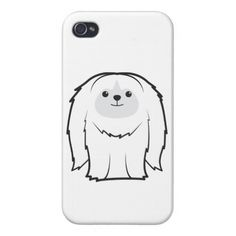 Pekingese Dog Cartoon Cases For iPhone 4
