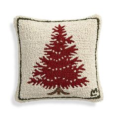 """Spruce 16"""" Pillow with Down-Alternative Insert  