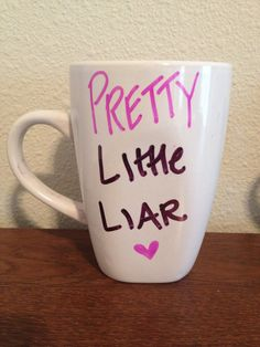 Pretty Little Liars coffee mug