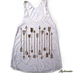 Womens ARROWS Collection american apparel TriBlend by ZenThreads, $19.00