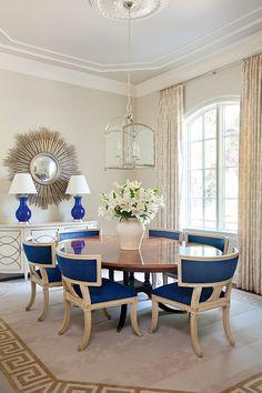 Интерьер дома в классическом стиле, дизайнер Тоби Фэрли, США